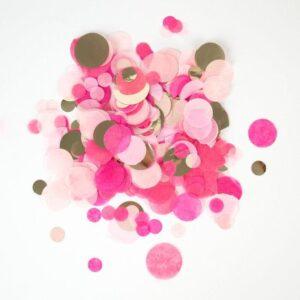 confetti rosa