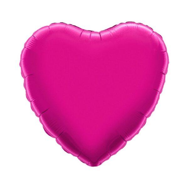 corazon peqeño fuchsia