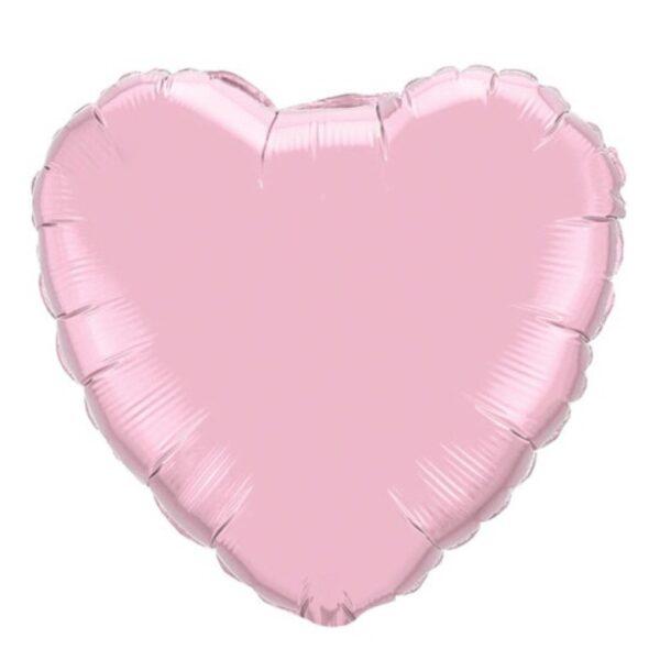 corazon grande rosa