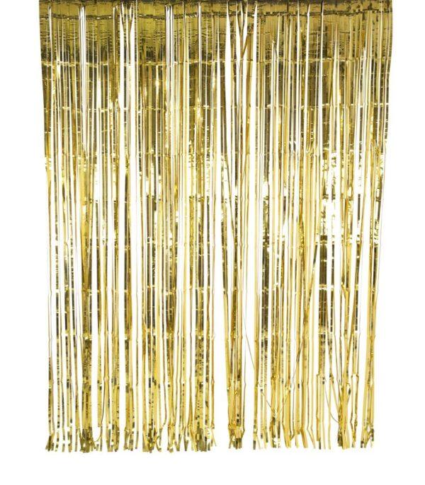 cortina dorada