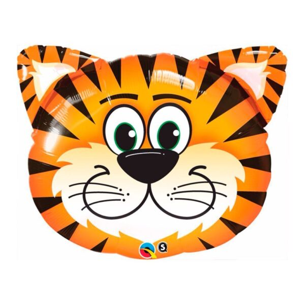 globo de helio con forma de tigre