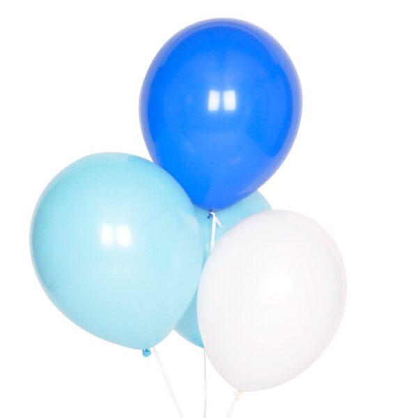 globos azules para fiestas madrid