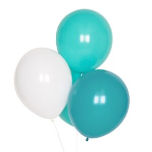 globos verde agua para fiestas online
