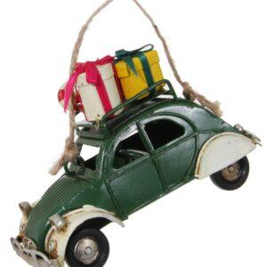 coche con regalos