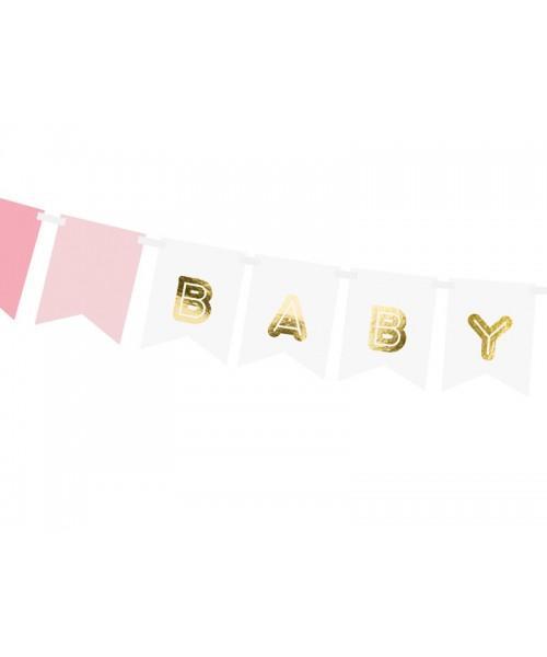 banderín baby girl
